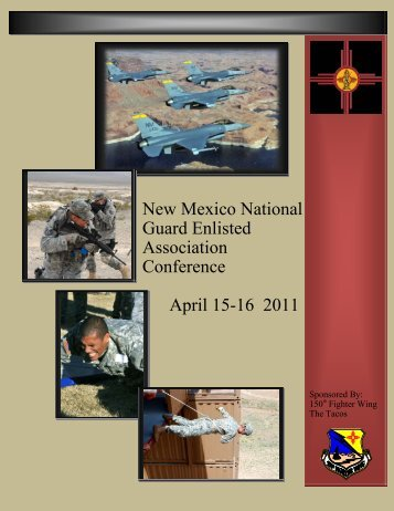 New Mexico National Guard Enlisted Association Conference April ...