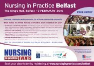 nursing in practice Belfast - Irish Practice Nurses Association