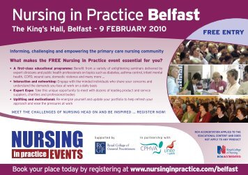nursing in practice Belfast - Irish Practice Nurses Association