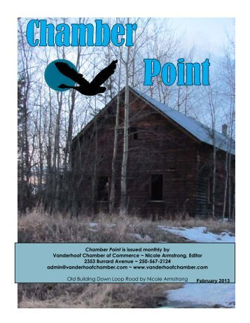 Chamber Point - Vanderhoof District Chamber of Commerce