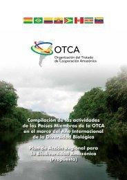 Compilación de las actividades de los Países Miembros de la OTCA ...