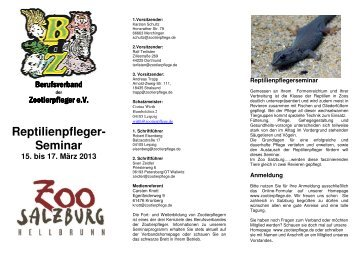 Flyer Salzburg 2013 0203 - Deutscher-Wildgehege-Verband eV