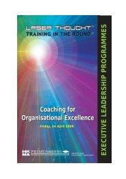 executive leadership programmes - Hong Kong Management ...
