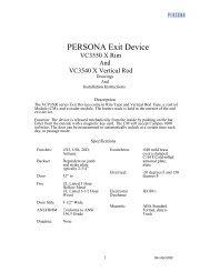 VingCard 6778 Remote - PERSONA Campus on