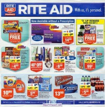 i heart rite aid: 03/06 - 03/12 ad