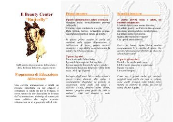 CORSI per BEAUTY CENTER - Dieta della salute - Dott. Fabrizio ...