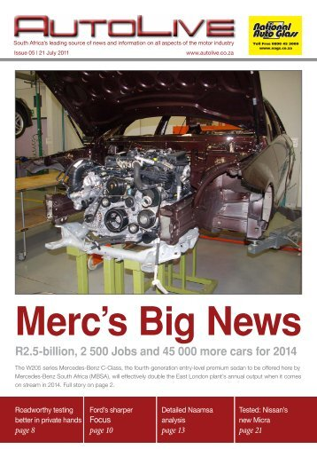 Merc's Big News - Autolive.co.za
