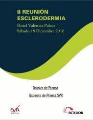 Seguimiento 2ª Reunión Esclerodermia - Sociedad Valenciana de ...