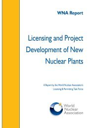 Licensing and Project Development of New Nuclear Plants