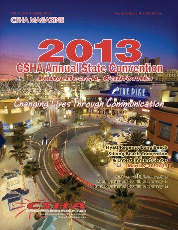 Program Book - CSHA
