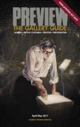 Preview | The Gallery Guide | April-May 2011