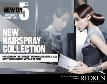January 2011 - Redken Professional