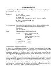 Automatische Plan- und Intentionserkennung fremder ... - CiteSeer