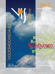 Beziehungen - Volkshochschule Schorndorf