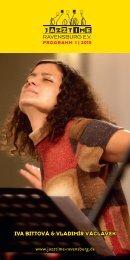 Jazztime Ravensburg e.V. - Frühjahrsprogramm 2015