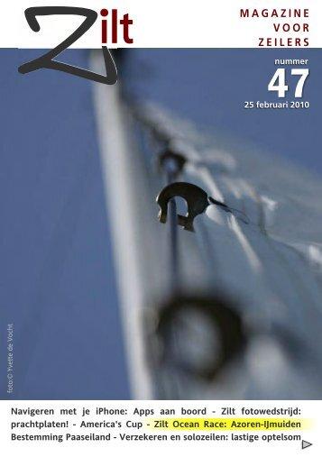 Zilt Magazine 47 - 26 maart 2010