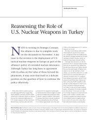 Reassessing the Role of U.S. Nuclear Weapons ... - MustafaKibaroglu