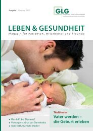 Vater werden - GLG mbH - Gesellschaft für Leben und Gesundheit