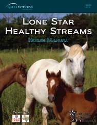 LSHS Horse Manual.pdf - Forages - Texas A&M University