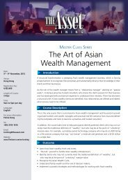 The Art of Asian Wealth Management - The Asset