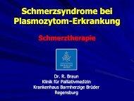 Schmerztherapie bei Multiplem Myelom / Plasmozytom von ltd. Arzt ...