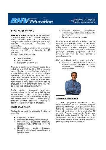 Internship promo pismo - novo _2_ - BHV Education