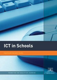 ICT in Schools - Department of Education and Skills