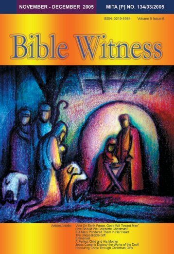Birth Of Christ - Bible Witness Media Ministry