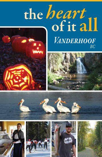 Tourist Brochure - Vanderhoof District Chamber of Commerce
