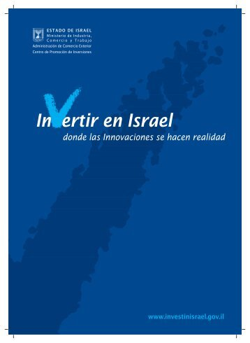 spanish brochure 07.FH11 - Invest in Israel