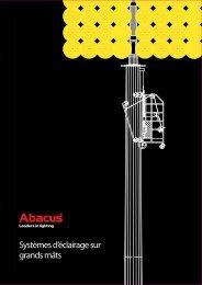 Abacus Lighting Ltd - Systèmes d'éclairage sur grands mâts