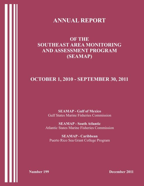Annual Report Gulf States Marine Fisheries Commission