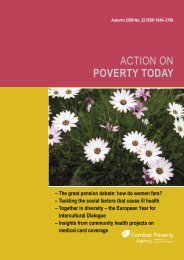 Action on Poverty Today - Combat Poverty Agency