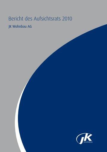 Bericht des Aufsichtsrats 2010 - ISARIA Wohnbau AG