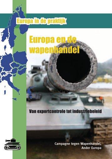 Europa en de wapenhandel - Ander Europa