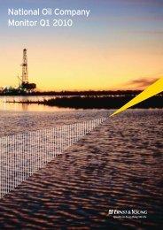 National Oil Company Monitor Q1 2010 - Українська енергетика ...