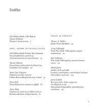 Sisällys (PDF, 51 kt)