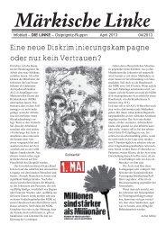 Märkische Linke 0413.indd - DIE LINKE. Ostprignitz-Ruppin