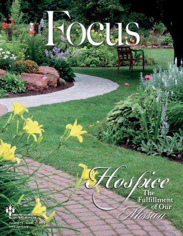 Hospice -- The Fulfillment of Our Mission Vol. 13, Issue 1 - Ohio ...