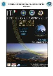 EUROPEAN TAEKWON-DO CHAMPIONSHIP 2011 - International ...