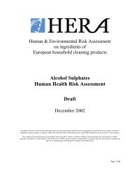 Human Health (PDF) - Human and Environmental Risk Assessment