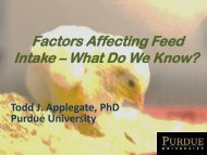 Factors Affecting Feed Intake - The Poultry Federation
