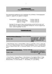 der Trainingsplan als pdf zum downloadn! - Donau-Golf-Club ...
