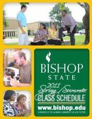 2011 Spring Schedule (PDF) - Bishop State Community College