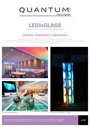 LEDinGLASS produktblad - Emmaboda Glas