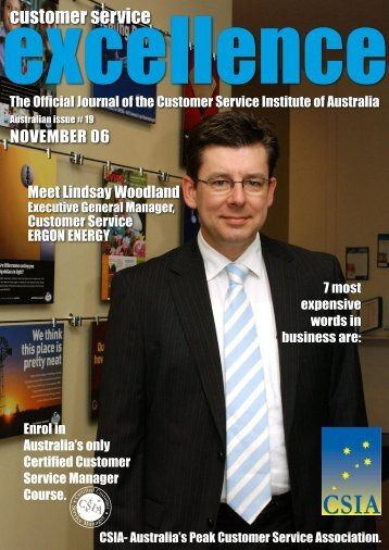 Issue 19 - Customer Service Institute of Australia
