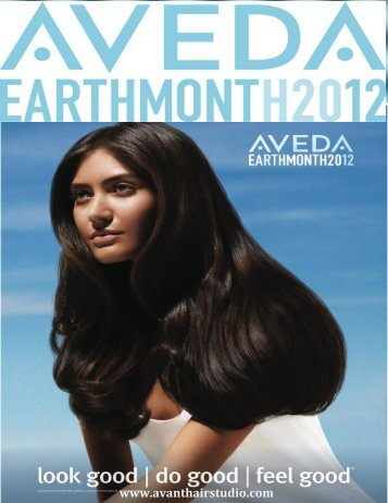 Earth Month 2012 - Avant Hair & Skin Care Studio