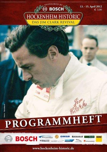 Programmheft 201215.43MB - Bosch Hockenheim Historic