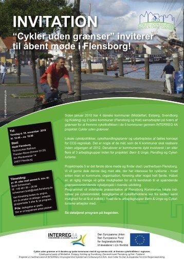 Invitation til netværksmøde - Cykler uden grænser