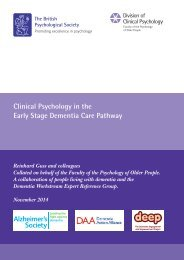 clinical_psychology_in_early_stage_dementia_care_pathway